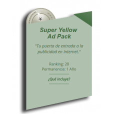 ANUNCIO SUPER YELLOW AD PACK
