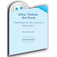 ANUNCIO ULTRA YELLOW AD PACK